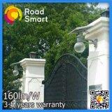 Gran cantidad de lúmenes 4W con protección IP65 Todo-en-uno solar calle LED Luces de jardín