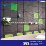 水補強のポリエステル線維の内部の装飾的な3D音-オフィスまたは会議室のための引きつけられるパネル