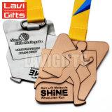 Estação de acabamento feita sob encomenda barata por atacado da medalha da lembrança da concessão do esporte do metal