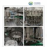 天然水の生産ラインか自動びん詰めにされた水詰物