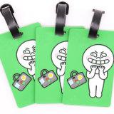 заводская цена Custom печать образный пластиковый поездки ID ПВХ тег багажного отделения