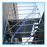 Constructionのための安全なSGS Approved Ringlock Scaffolding