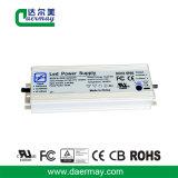 Condutor LED impermeável com certificação UL 150W 45V 2.7A