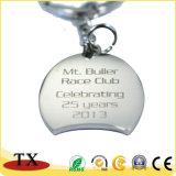 Поощрение индивидуального логотипа металлический сувенирный подарок цепочки ключей