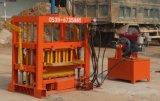 Machine de fabrication de brique crue de la terre Qt4-40 cavité de moteur diesel bloquer/bloc concret faisant la machine