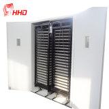 Hhd Holding 8448 oeufs deux chariots automatique complet de style pour la vente d'Incubateur d'oeufs de volailles Ce passé