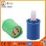 Doble eléctrico de la calefacción que sella el cartucho de cerámica (pista plana)