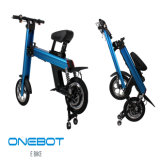 Onebot складной батареи Panasonic на два колеса Ebike со светодиодной подсветкой