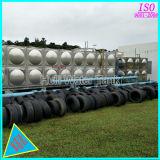 De gelaste Tank van de Opslag van het Water van het Roestvrij staal kan OEM goedkeuren