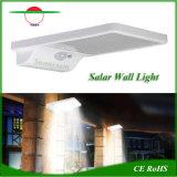 Las luces solares de poste de luz de pared Jardín del sensor de movimiento generador de energía