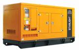 diesel silencioso Genset del conjunto de generador de potencia del motor diesel 132kw/165kVA