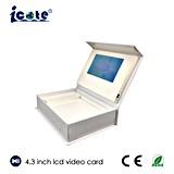 128MB-8GB 4.3 caixa video da tela da polegada TFT LCD para o pacote