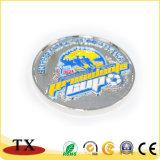 A polícia brilhante do metal dos esportes do presente da lembrança etiqueta o Pin emblema Sporting
