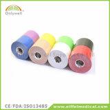 Nastro adesivo del cotone di sport medico esterno elastico di cinesiologia