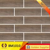 Telha cerâmica rústica de madeira de telha de assoalho do olhar do material de construção (8M6001)