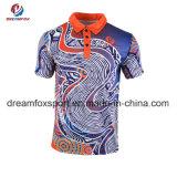 Sports de haute qualité T-Shirt Custom Sportswear sublimé Polo Shirt pour hommes