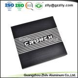 ISO9001 negro de la fábrica de perfiles de aluminio tallado con la norma ISO 9001