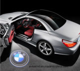 Projeto novo! Luz de logotipo preta do carro do diodo emissor de luz 3D, luz da sombra do fantasma do diodo emissor de luz