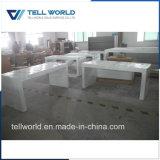 Personnalisé de la pierre artificielle Bureau exécutif Table Meubles Work station Manager