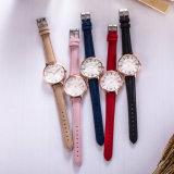 Reloj de manera caliente del reloj del cuero del ODM del reloj de la venta (Wy-132C)