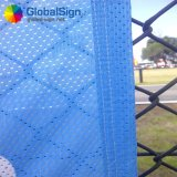 Advertizing Polyester Sporting Mesh Banners clouded