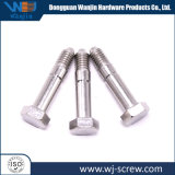 Customized Stainless Steel Outside Hexagon Screw Fastener CNC Leaves