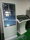 видео-дисплей экрана игрока LCD киоска данным по пола 65inch стоящее
