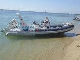 Bateau de côte de fibre de verre de bateau de sport de côte de Liya 6.2m