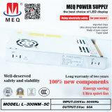 60A 300W ultradünne Schaltungs-Stromversorgung 5V