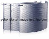 Plaque inoxidable gravée en relief de modèle pour la plaque de palier de plaque de refroidissement d'échange thermique