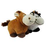 Le logo mignon a stigmatisé le jouet bourré par peluche promotionnelle de vache