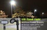 luz de inundação 12VAC do diodo emissor de luz 80W, 120VAC, 277VAC com excitador do CI