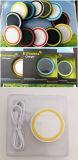 Красочные мини-зарядка панели зарядного устройства беспроводной связи Q5 подарочной упаковки