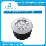 luz subacuática ahuecada de la fuente de la lámpara de la piscina del acero inoxidable LED del poder más elevado de 36W 12V