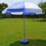 Оптовое промотирование 36inch 8K белое рекламируя зонтик пляжа сада Sun