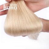 Бразильский Реми человеческого волоса 20 дюйма русые Micro контура волос на добавочный номер