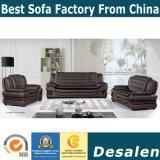 Nova chegada mobiliário de sala de estar sofá de couro genuíno (F099)