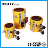 Double matériel en acier cric hydraulique temporaire