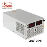 Bloc d'alimentation de commutation de la sortie AC-DC de Smun S-3000-48 3000W 48VDC 62A