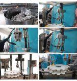 Máquina que capsula rotatoria automática con la cubierta de la protección para Yougurt (HC-50)