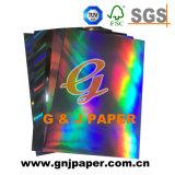 Hologramme papier métallisé de transfert pour l'emballage en papier stratifié