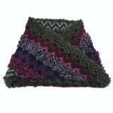 Avançon tricoté lourd de boucle d'impression d'onde mélangé par couleur chaude unisexe de l'hiver (SK176)