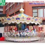 Conduite de carrousel de bon marché 16 portées à vendre, conduite musicale de carrousel