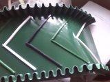 PVC/PU seitliches V führt Förderband für gutes Saftety