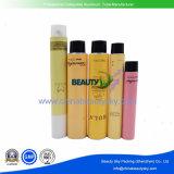 Leere zusammenklappbare kosmetische Karosserien-Sorgfalt-Aluminiumhandsahneverpackengefäß