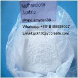 Aufbauendes Steroid-rohes Puder Primobolan Methenolone Azetat CAS: 434-05-9