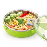 920ml en acier inoxydable rondes Boîte à lunch récipient alimentaire 22110