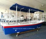Liya-7.64,2 millones de pasajeros m barco pesquero de fibra de vidrio