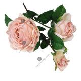 Fiore artificiale di seta della Rosa di tocco reale in vari colori per la decorazione domestica di cerimonia nuziale