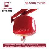 Ultrafine乾燥した粉の消火器の自動消火活動システム